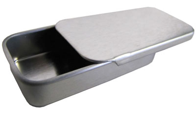 Steel Slide-Top Lip Balm Container MAIN