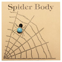 Turquoise Spider Body THUMBNAIL