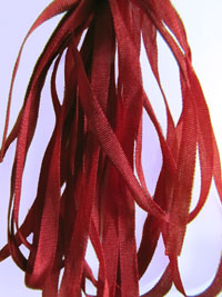 Thread Gatherer Hand-dyed Silk Ribbon, 4mm — In The Reds 063 THUMBNAIL
