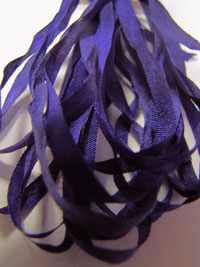 Thread Gatherer Hand-dyed Silk Ribbon, 4mm — Vintage Violets 140 THUMBNAIL