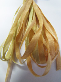 Thread Gatherer Hand-dyed Silk Ribbon, 4mm — Prairie Grass 077 THUMBNAIL