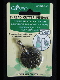 Thread Cutter Pendant THUMBNAIL