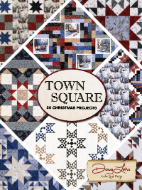 Town Square—20 Christmas Projects – by Doug Leko of Antler Quilt Design THUMBNAIL