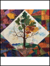 "QT Fabrics ""His Majesty - The Tree"" # 27558-X Multi - Center Medallion Panel (26"" x 43"") *NEW SWATCH"