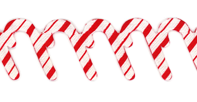 Candy Cane Trim by May Arts - # EX-75 MAIN