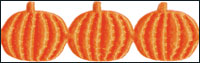 Orange Pumpkins Trim by May Arts - # EX-28 THUMBNAIL