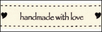 "Twill Tape Trim by May Arts - # 413-34-16 – ""handmade with love"" THUMBNAIL"