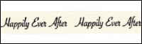 "Twill Tape Trim by May Arts - # 413-12-32 – ""Happily Ever After"" THUMBNAIL"