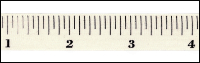 Twill Tape Trim by May Arts - # 413-34-7 – Tape Measure THUMBNAIL