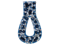 Vintage Appliqué – Blue and Silver THUMBNAIL