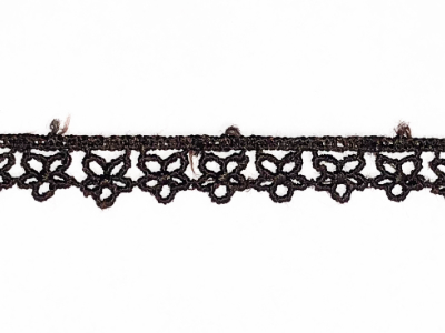 Vintage Flower Trim – Dark Brown MAIN