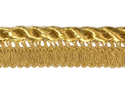 Vintage Trim – Gold Twist Pillow Ribbing MAIN