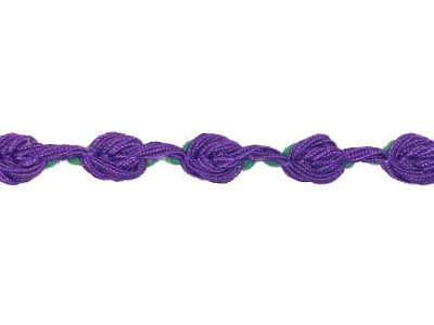 Vintage Trim – Purple with Green Accents MAIN