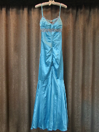 Turquoise Blue Mermaid Dress by Windsor  (#11) THUMBNAIL