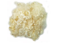 Kid Mohair — White Roving THUMBNAIL