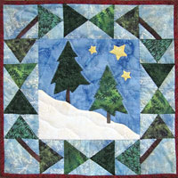 Frosty Winter Wreath Pattern THUMBNAIL
