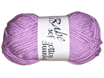 "Euro Baby ""Babe Softcotton Chunky"" Yarn - color: 08 - Baby Purple MAIN"