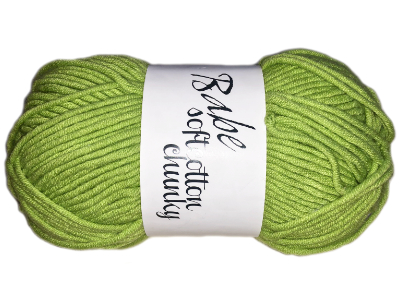 "Euro Baby ""Babe Softcotton Chunky"" Yarn - color: 13 - Grass MAIN"