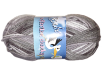 "Euro Baby ""Babe Softcotton Chunky Prints"" Yarn - color: 207 - Silver, Grey, Charcoal THUMBNAIL"