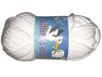 "Euro Baby ""Babe Softcotton Chunky"" Yarn - color: 09 - Pure White THUMBNAIL"