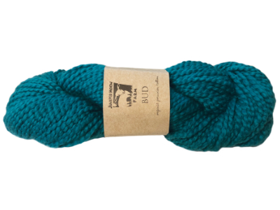 "Juniper Moon Farm ""Bud"" Yarn - Teal Tulip MAIN"