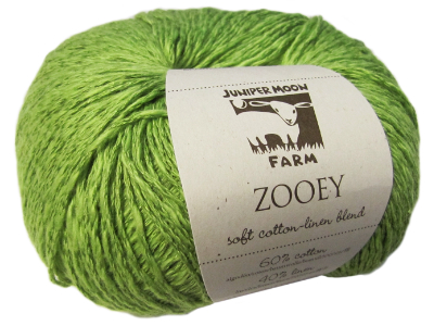 "Juniper Moon Farm ""Zooey"" Yarn - Chartreuse MAIN"