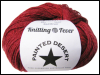 "Knitting Fever ""Painted Desert"" Yarn - color: 105 - Red River SWATCH"