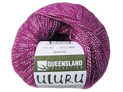 "Queensland Collection ""Uluru"" Yarn - color: 107 - Violet Hill MAIN"