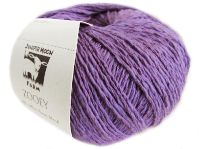 "Juniper Moon Farm ""Zooey"" Yarn - Petal Purple MAIN"