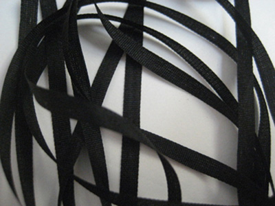 YLI Silk Ribbon, 4mm — 004 (black) MAIN