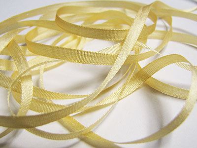 YLI Silk Ribbon, 4mm — 014 (yellow) MAIN