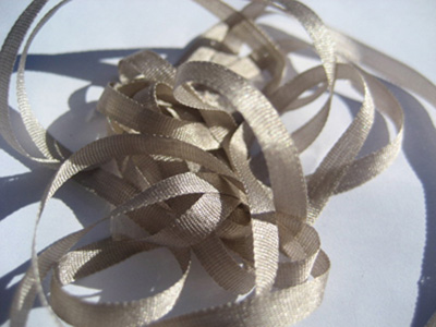 YLI Silk Ribbon, 4mm — 030 (stone) MAIN