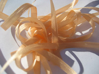 YLI Silk Ribbon, 7mm — 039 (peach) THUMBNAIL
