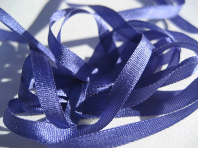 YLI Silk Ribbon, 4mm — 045 (Copenhagen blue) MAIN