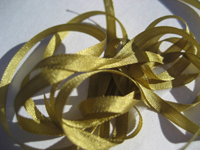 YLI Silk Ribbon, 4mm — 056 (light green brown) MAIN
