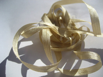 YLI Silk Ribbon, 4mm — 057 (sand) MAIN