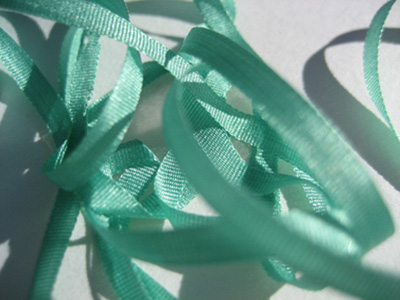 YLI Silk Ribbon, 4mm — 063 (candy green) MAIN