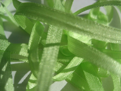 YLI Silk Ribbon, 7mm — 094 (light lime) MAIN