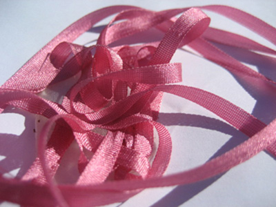 YLI Silk Ribbon, 4mm — 128 (primrose) MAIN
