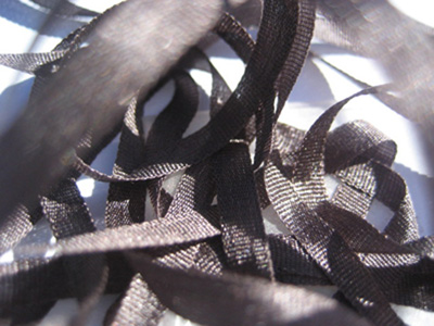 YLI Silk Ribbon, 4mm — 142 (charcoal) MAIN
