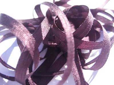 YLI Silk Ribbon, 2mm — 179 (dusty lavender) MAIN