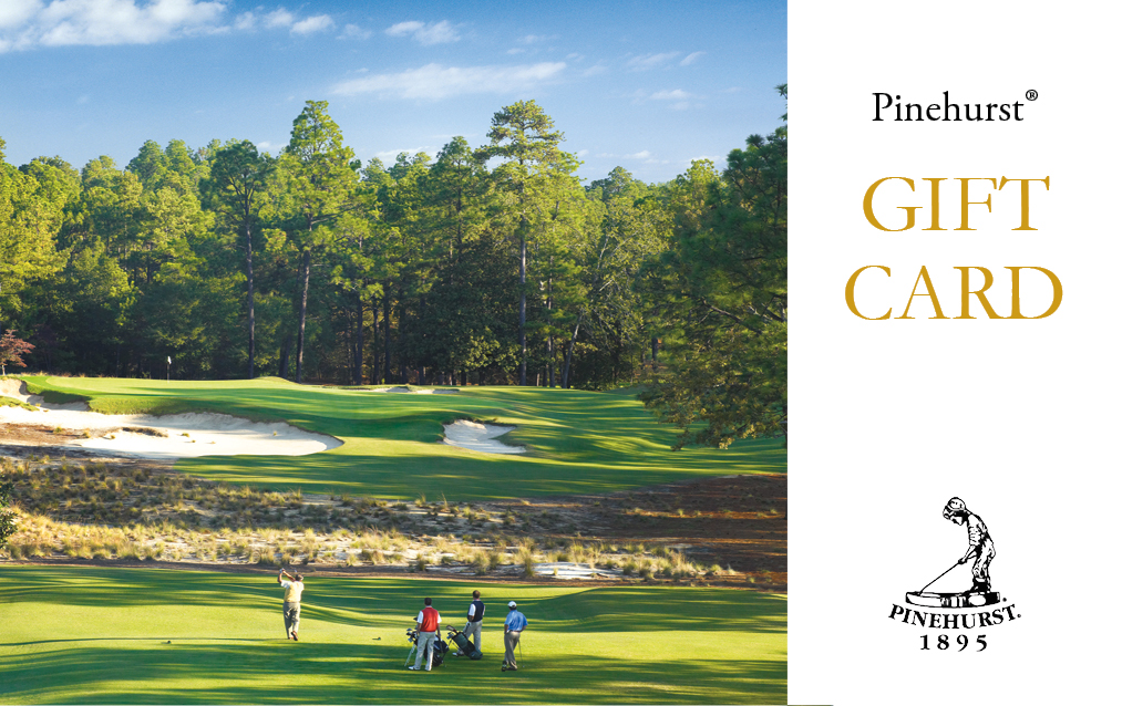 Pinehurst Gift Card LARGE