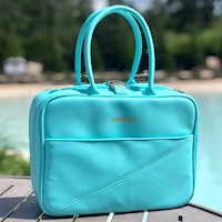 Corkcicle Lunchbox Cooler - Turquoise THUMBNAIL