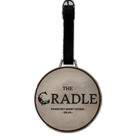 The Cradle Chromoplate Bag Tag