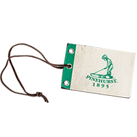 Putter Boy Wooden Pin Flag Bag Tag_THUMBNAIL