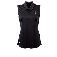 Ladies' Pinehurst Private Label Solid Sleeveless Polo_THUMBNAIL