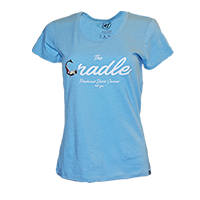 Ladies' Cradle Script Tee