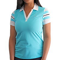 Ladies' FootJoy Stripe Polo_THUMBNAIL