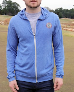 Ahead- Men's Pasadena Full-Zip Hoodie LARGE