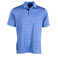 Fairway and Greene Men's USA Tourn. Patriot Stripe Polo